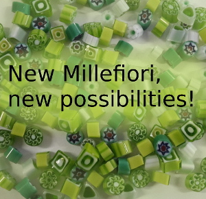 <p>New millefiori, new possibilities</p>